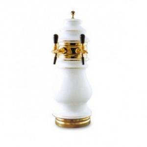 Пивная колонна керамическая без логотипа стандартной формы