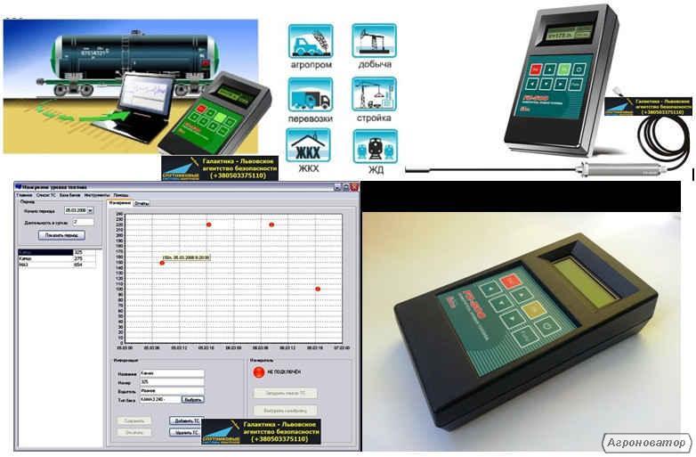 Мобильный измеритель уровня топлива FZ-500