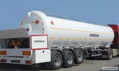 Цистерна напівпричіп -LPG газовоз, паливні, бітум, харчові, КАС, і ін