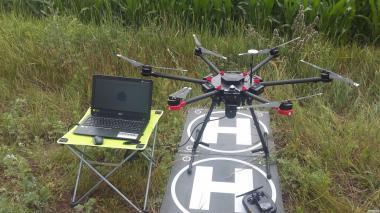 Мониторинг посевов с воздуха (стресс, вегетац. масса, хлорофил)