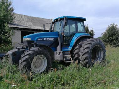 Ремонт гидравлики трактора FORD