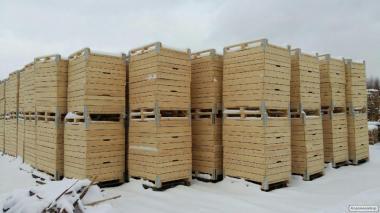 Ящик деревянный дощатый