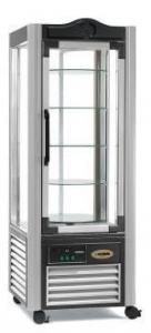 Шкаф-витрина кондитерский (цвет серый) ERG 400G