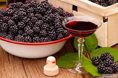 домашнее вино из ежевики