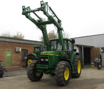 Трактор John Deere 6610 premium (1998)