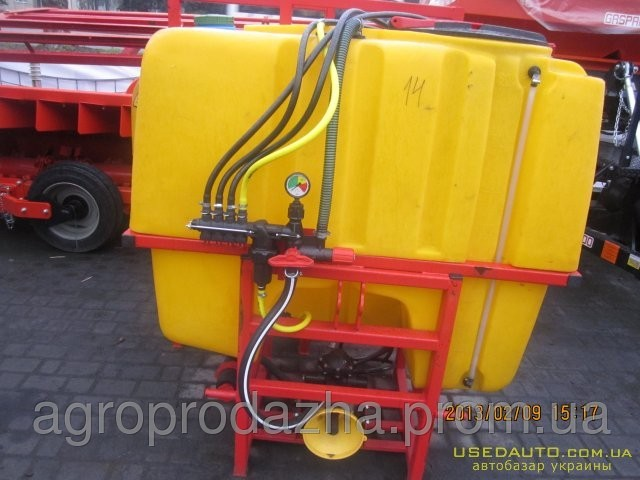 Обприскувач навісний тракторний ОП-800