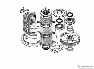 Барабан 02.130 (БЦС)В наявності є всі запасні частини до сепараторів