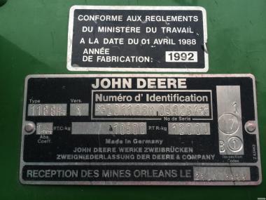 Комбайн  JOHN DEERE 1188 S II  Джон Дир