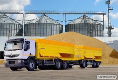 Вантажоперевезення зернових по Україні