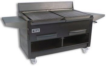 Гриль угольный PIRA BBQ-40 INOX