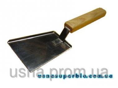 Скребок-лопатка для чищення вуликів (нержавійка)