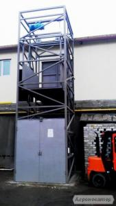 Приставний підйомник-ліфт монтаж зовні будівлі. Виробництво!