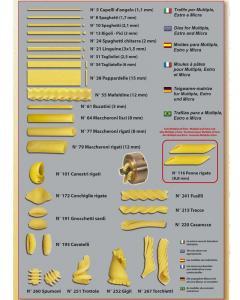 Обладнання лінії для виробництва макаронів і макаронних виробів. Італія