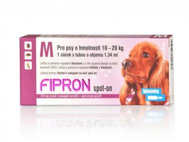Фипрон M (10-20кг) спот-він розчин для собак (1 піп.х 134 мг)
