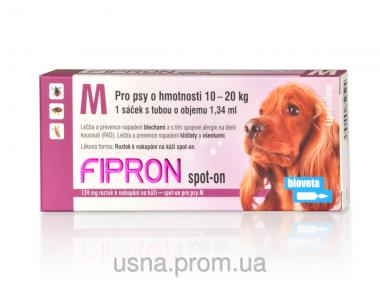 Фипрон M спот-он раствор для собак (1 пип.х 134 мг)