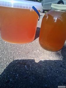 Продам мед (акація + липа + різнотрав'я)