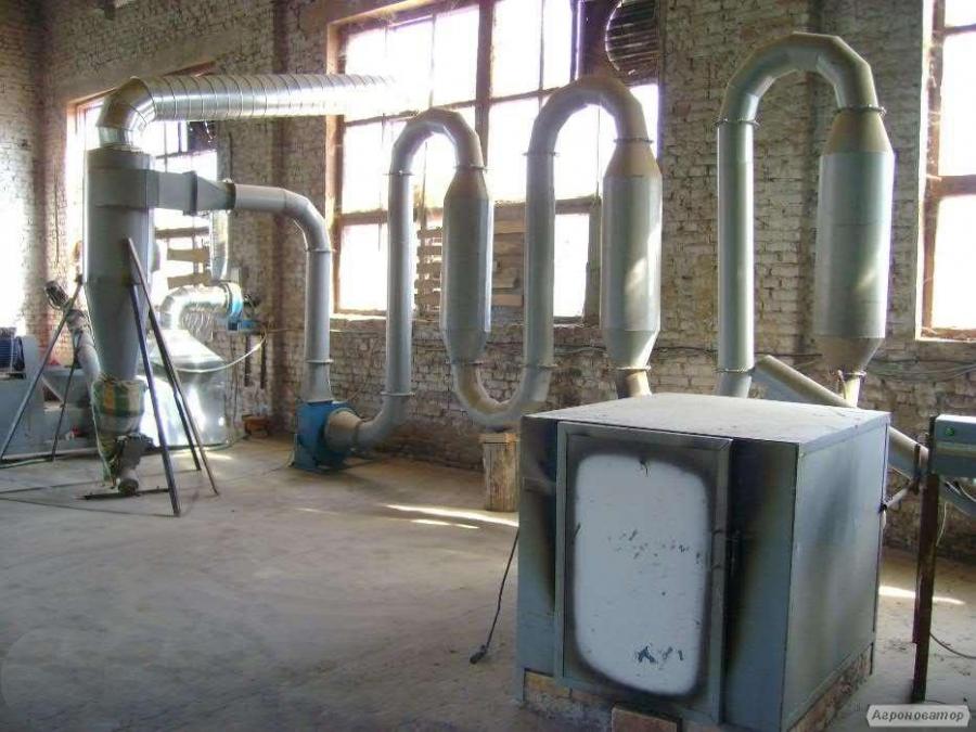 Линия по производству топливных брикетов Пини Кей