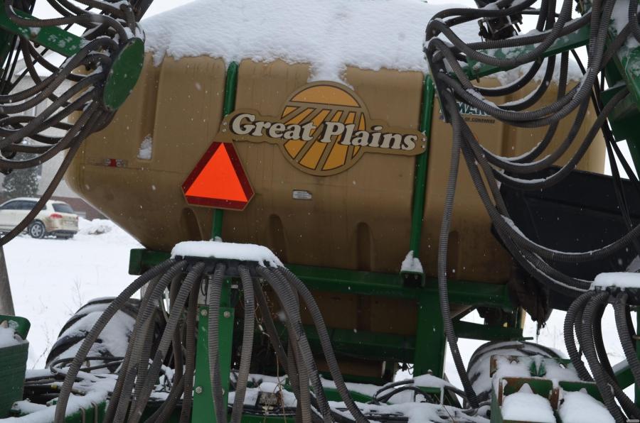 Пневматичні дискові сівалки Great Plains
