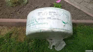 Крапельна стрічка / капельная лента Jain (США) 6 mil, 10 см, d 16мм
