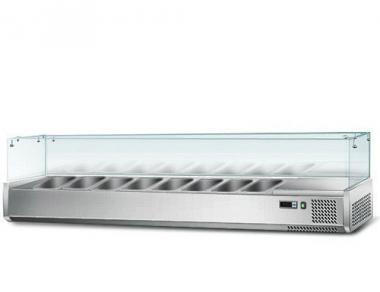 Вітрина для гастроємкостей GGM AGS183 (холодильна)