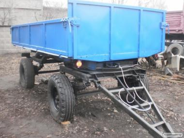 Причіп тракторний 2 ПТС-4 самоскидний на поворотному колі