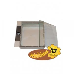 Кормушка Дудника квадратная под стекло 1,6 л.