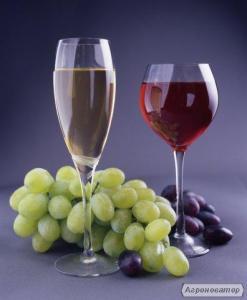 Вино кагор та інших сорти червоних і білих вин