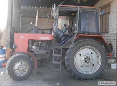 Продам трактор Беларус МТЗ 82,1 2002 года выпуска. Новомосковск