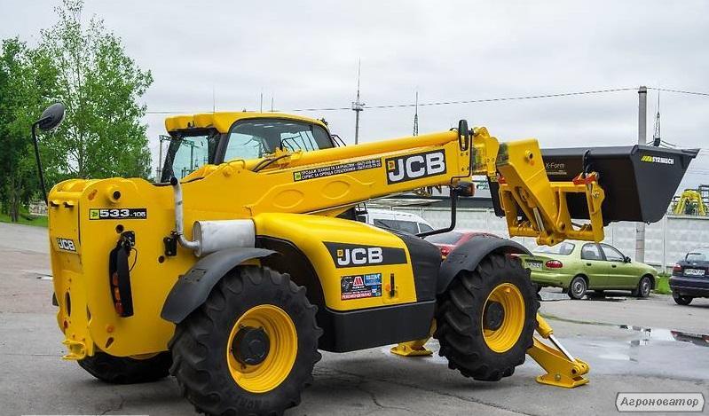 Навантажувач JCB 533-105 (б/у)