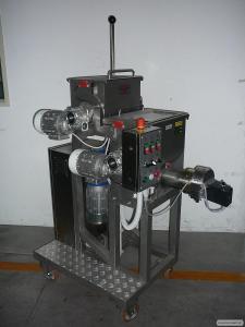 Макаронний прес 50 кг/год, машина для виробництва макаронів