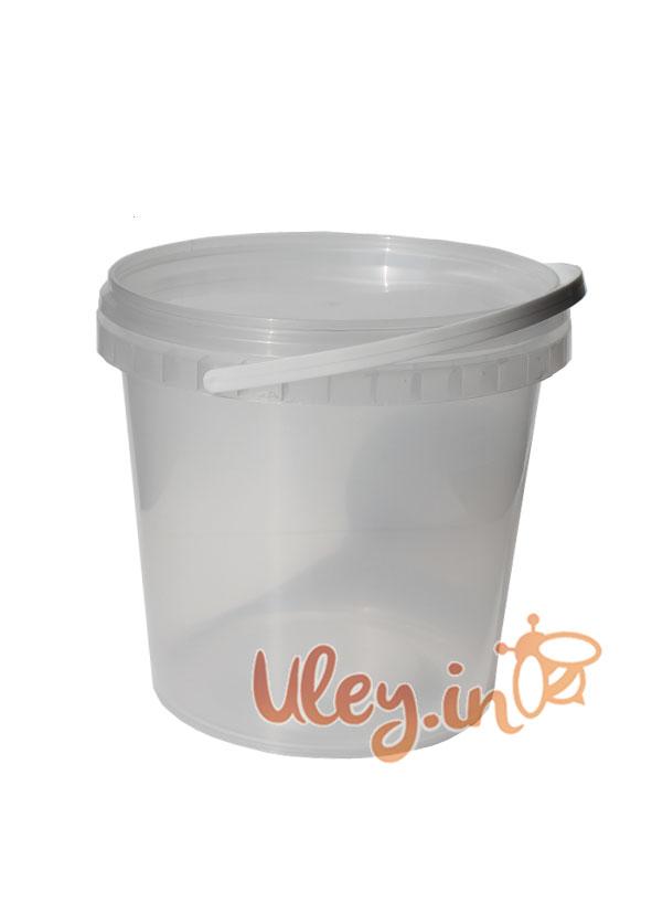 Відро пластикове для меду 1 л (сертифіковане)