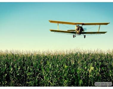 АВІА обробка полів дельтапланом, літаком, вертольотом.