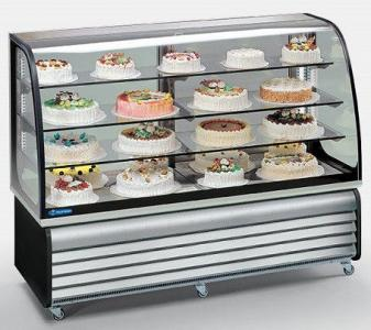 Вітрина холодильна Tecfrigo Brio186Q (cod.92+01) (БН)