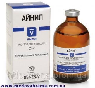 Айніл 10% — протизапальний