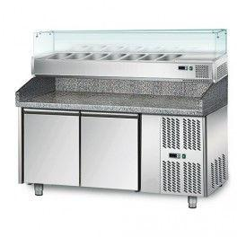 Стол для пиццы GGM POS158#AGS154 (холодильный)