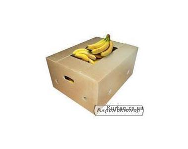 Бананка, Ящик банановый