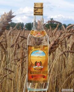 Спирт пшеничний харчовий