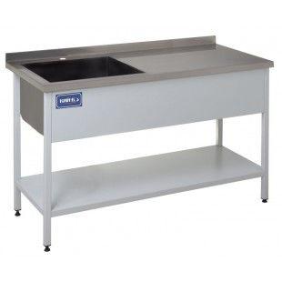 Стол разделочный с ваннами моечными КИЙ-В СПМ5