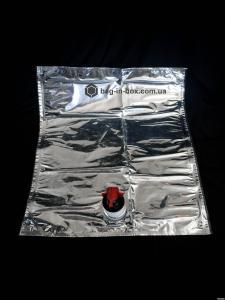 Пакети з краником bag-in-box, пакет біг ін бокс під вино 2,3,5,10,20 л