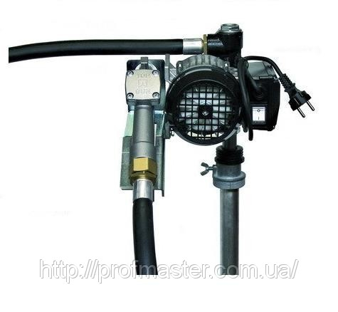 Насос бочковий для дизельного палива 220В, 60 л / хв