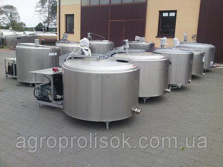 Охолоджувач молока 900 л
