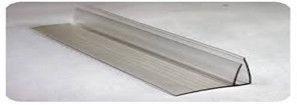 Профіль пристінний полікарбонатний, 8-10 мм - довжина 6 м