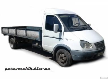 малі вантажні перевезення по києву бортовий газелю 4 метри