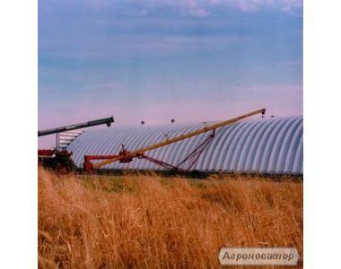 Скоро весна, пора строить - зернохранилища напольного типа -