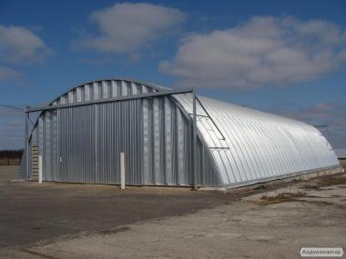 Новый 2019 год, спешите построить - зернохранилища напольные быстрые