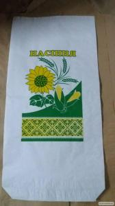 Бумажные пакеты для семян кукурузы и подсолнечника