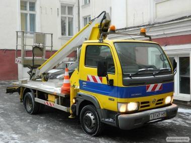 Надаємо послуги автовишки в Одесі висотою 14, 17, 20, 28 метрів.