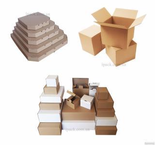 Гофрокороб, картонные коробки, гофроящик. АЙПАК