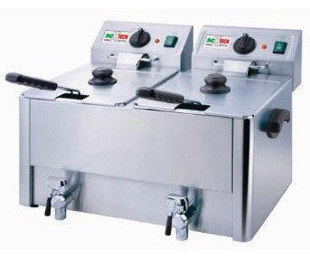 Фритюрниця HDF-8 + 8 Inoxtech