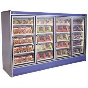 Шкафы морозильные с выносным агрегатом Metis 3D